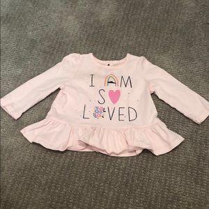 Gap baby girl long sleeve t